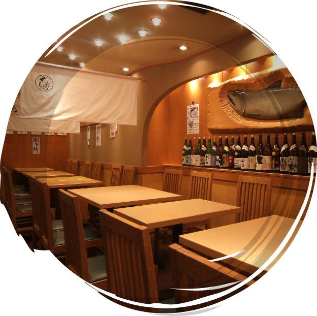 お店でお寿司を愉しむ