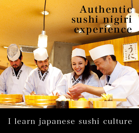 I learn japanese sushi culture