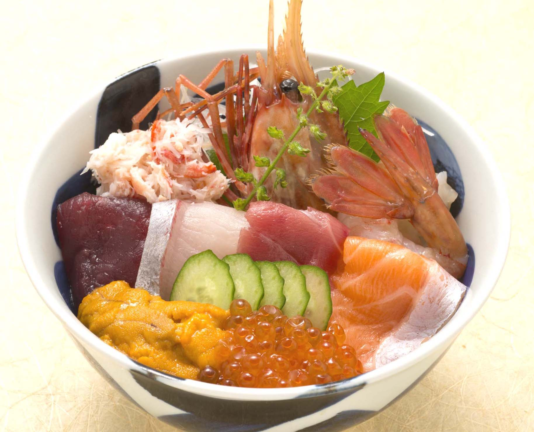 魚河岸海鮮丼