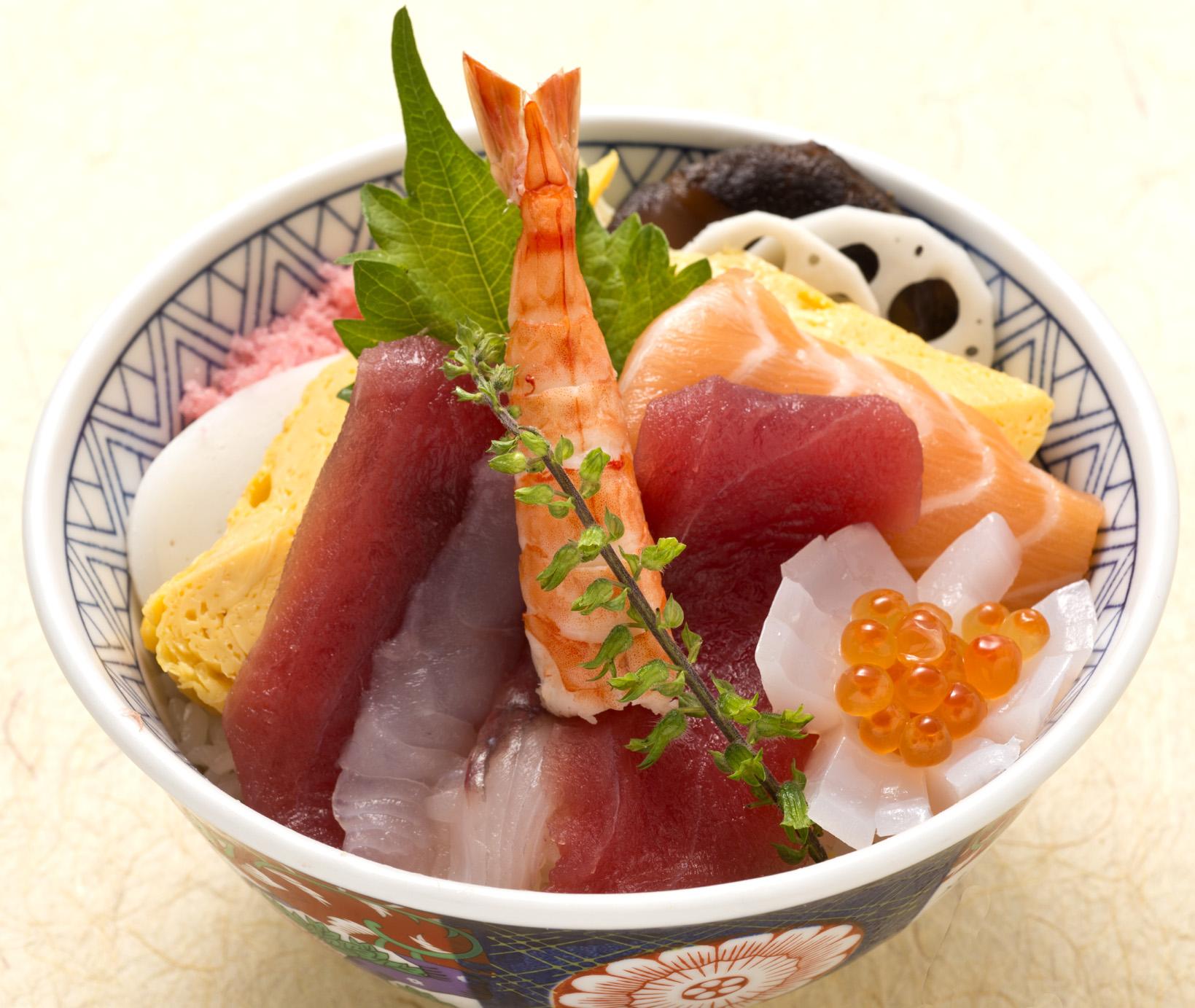 本日のちらし(お椀・デザート付)