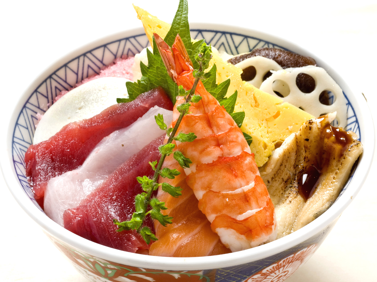 ちらし丼(お椀付)