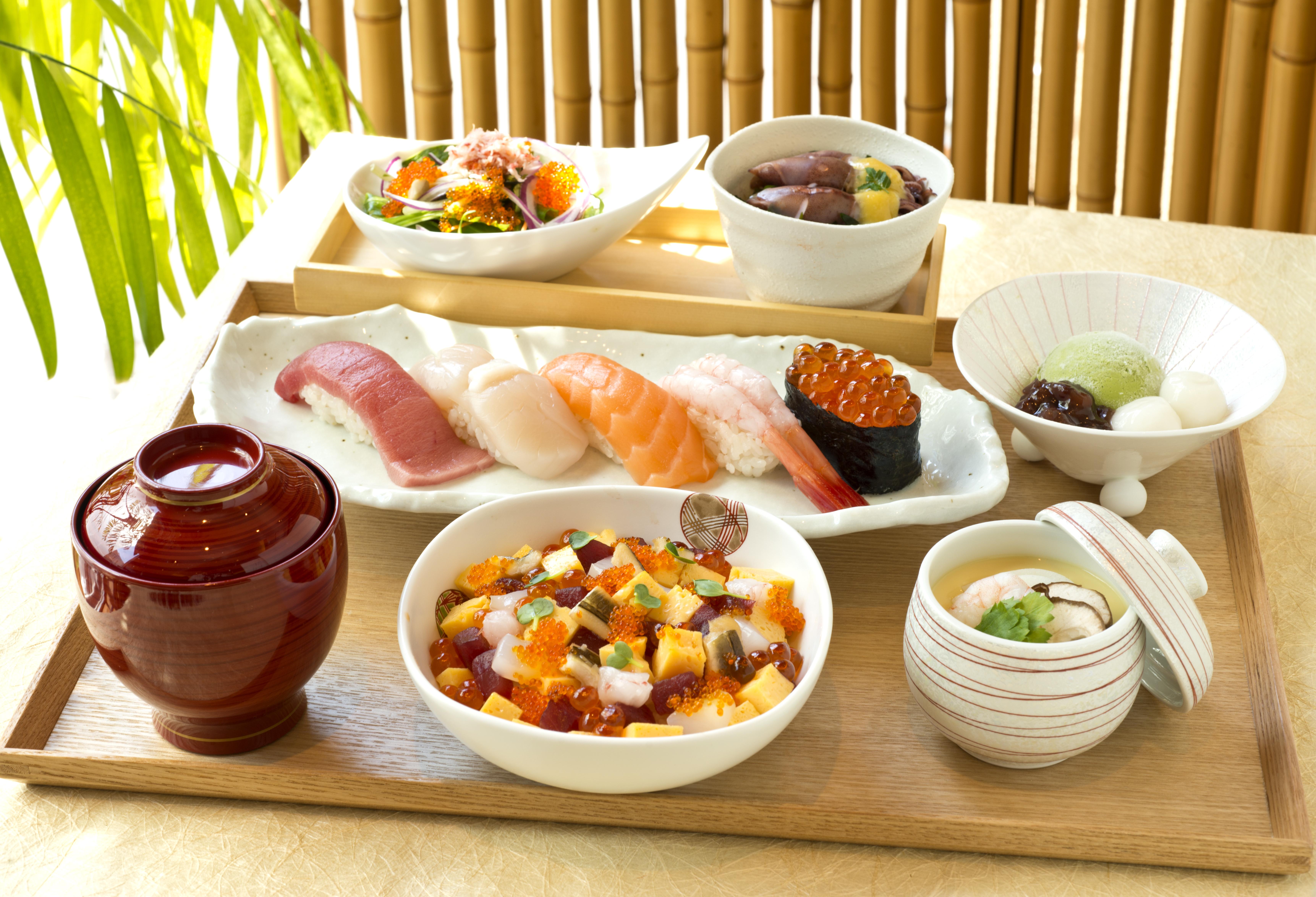 つばき御膳(お椀・サラダ・茶碗蒸付)