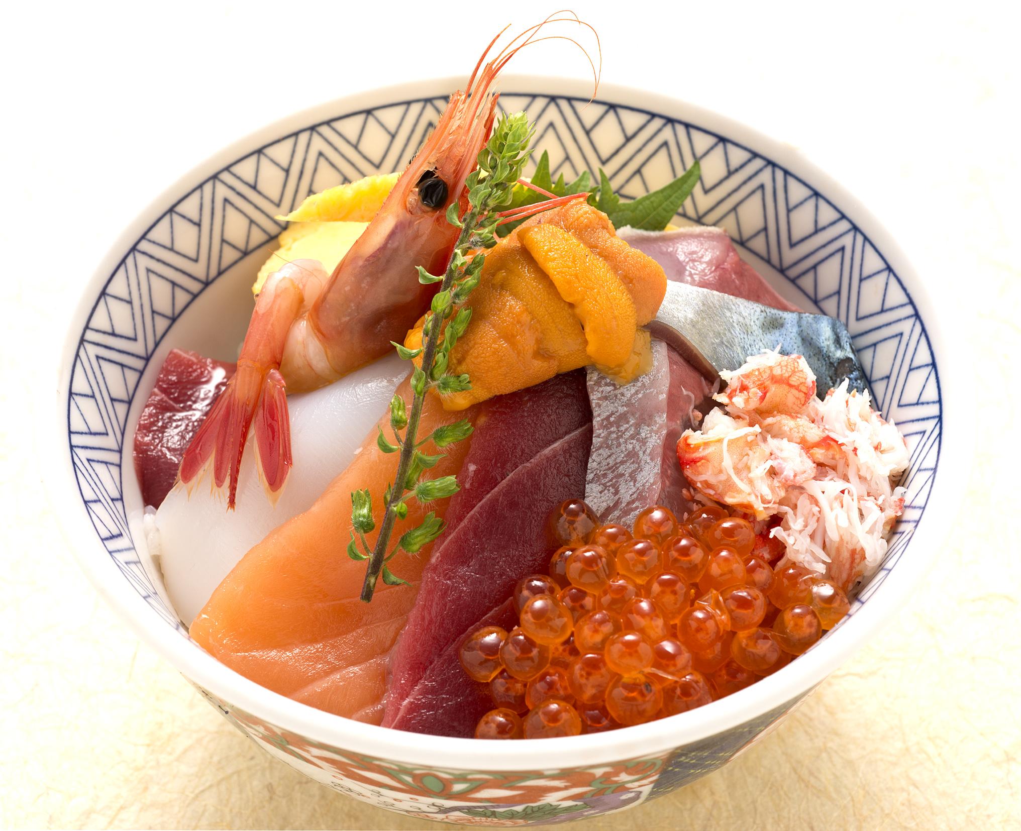 限定 海鮮丼(お椀付)