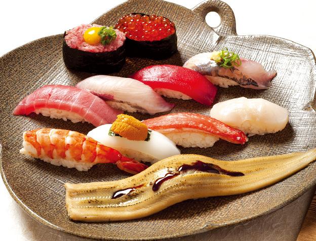 七福にぎり(お椀・デザート付)