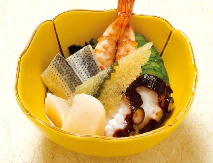 魚介類の酢の物