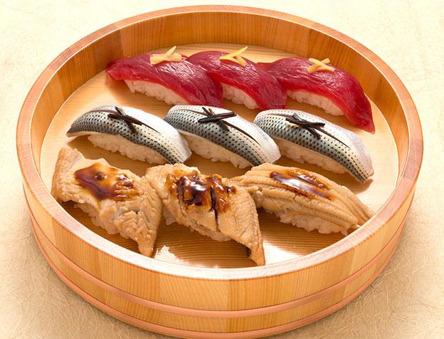 玉寿司こだわり3種