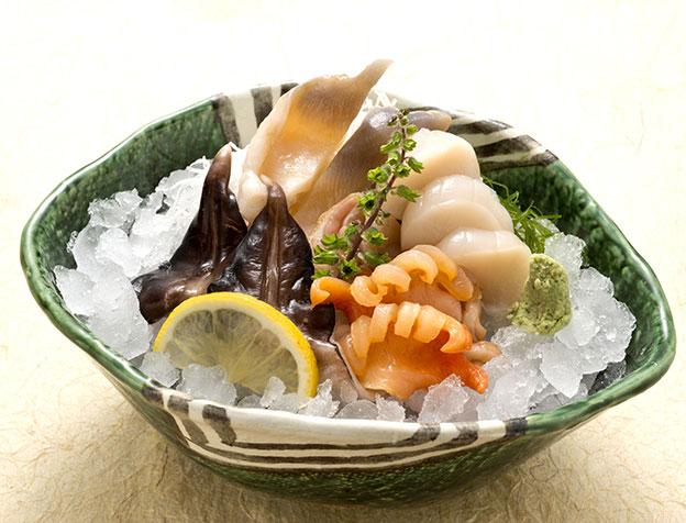 貝類盛り合せ